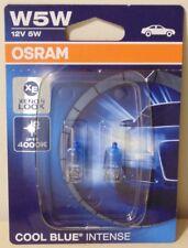 OSRAM Cool Blue Intense Light Globe PAIR W5W Wedge type 5W for VW Skoda Nissan