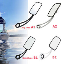 """4-Type Wakeboard Tower Mirror Boat Convex Mirror w/Arm Fit 2"""" 2.25"""" 2.37 or 2.5"""""""