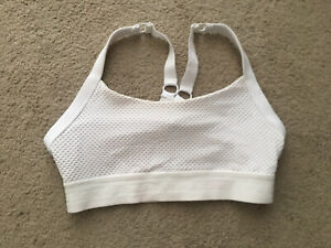 White Lorna Jane Sports Bra Size Small