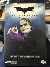 DC Direct The Dark Night The Joker 1:6 Deluxe Collector Figure NEW!
