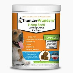 ThunderWunders Dog Calming Chews | Vet Recommended for Situational Anxiety |...