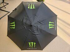 "Monster Energy Athlete Umbrella 55"" Extra Large Golf Tiger Woods NEW"
