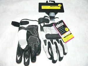 Castle Streetwear Motorcycle Street Protection Blast Gloves,White, Ladies L, NWT