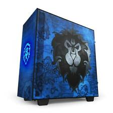NZXT H510 World Of Warcraft Alliance Limited Edition Mid Tower Case RARE SEALED