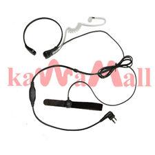 Surveillance Throat Mic Motorola GP300 MTLTRT