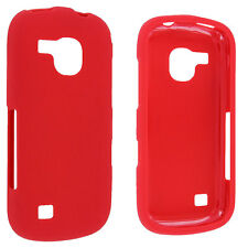 Red Snap-On Hard Case for Samsung Continuum i400
