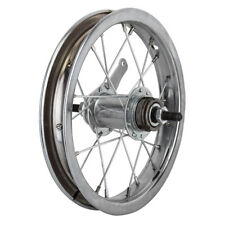 "Wheel Master 12-1/2"" (2-1/4"") Bicycle Rear Wheel 3/8"" Coaster Brake Silver"