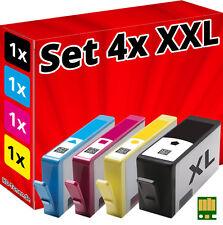 4x CHIP PATRONEN für HP-364-XL 5510 5514 5515 5520 5522 5524 6510 6520 7510 7520