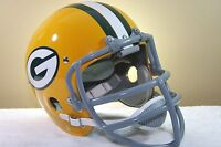 GREEN BAY PACKERS Custom Game TK Vintage Style Football Helmet RAY NITSCHKE CLIP