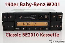 Original Mercedes Classic BE2010 Autoradio W201 C-Klasse 190er Kassettenradio CC