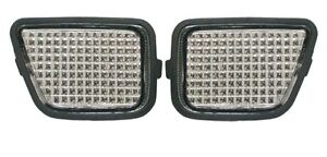 fit 97-01 CRV CR-V Euro Clear Sidemarker Lights FRONT 98 99 PAIR