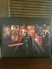 NEW Artissimo Star Wars Art Canvas Painting 14x18