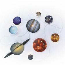 Solar System String Lights 10 LED Illuminated Planets Night Light