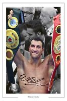 WLADIMIR KLITSCHKO BOXING SIGNED AUTOGRAPH PHOTO PRINT
