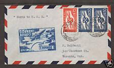 Portugal Sc C1, C2 on 1939 FFC, Horta-USA