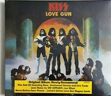 KISS Love Gun Remastered Edition (2 Disc-Set) Cd Sealed Argentina Edition