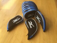 10 Mizuno black blue  superior golf club iron head covers HEADCOVERS