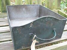 1 Stück Ib Laursen shabby Schublade blech Vintage Landhaus Metall Kiste