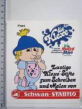 Aufkleber Sticker Schwan Stabilo - Die Montagsmaler 1969-1972 - Klexe V1 (M1263)