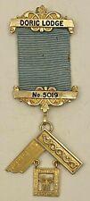 Jewel PM Doric Lodge 5019 HM Silver Surbiton Surrey Masonic