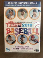 2018 Topps MLB Heritage Baseball Value Box Trading Cards - Blaster - Ohtani?!?
