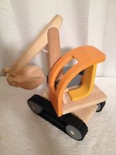 Vintage Plan Toys Shovel Truck As Is