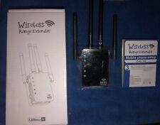 WIFI Repeater 2.4G 5G 1200mbps AC Wireless Range Extender