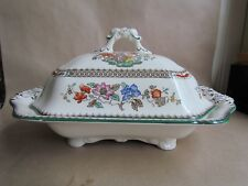 SPODE CHINESE ROSE 2/9253 LARGE COVERED VEGETABLE DISH - MINT (Ref0025)