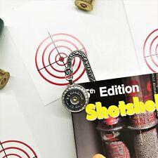 12 Gauge Shotgun Bookmark - Unique Gift Idea
