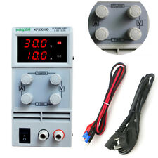 Labornetzgerät Netzgerät Labornetzteil Trafo Variable Regelbar 0-30V 0~10A DC