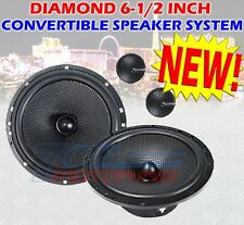 "DIAMOND 6.5"" INCH CONVERTIBLE CAR SPEAKERS FOR HARLEY DAVIDSON REAR SPEAKERS"