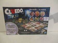 CLUEDO CLASSIC MYSTER GAME WITH NEW SUSPECT DR ORCHID - BRAND NEW FACTORY SEALED