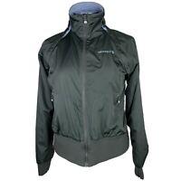 Merrell Women's Jacket/Vest Sz M Blue/Gray Reversible Converts to Vest Windbreak