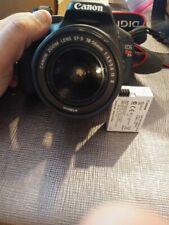 Canon EOS Rebel T2i Digital SLR Camera 18-55mm Lens Battery Neck Strap