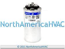 Amrad Capacitor Dual Run Round 45/7.5 45.0/7.5 uf MFD 370 VAC RA2000/37(456+755)