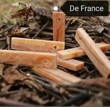 bois Gras 100 % Naturel Allume Feu Survie Randonnée ( De France )