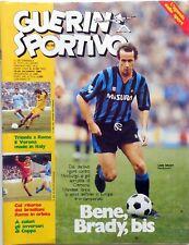 magazine mag rivista GUERIN SPORTIVO N.51/52 1984 LIAM BRADY CEREZO FALCAO