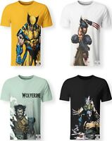 Wolverine Logan Marvel Comics X-Men Avengers T-Shirt 3D Print Men Women S-7XL
