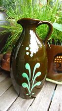 Swedish Ekeby Anna-Lisa Thomson glazed ceramic ewer / jug / pitcher / vase