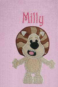 Raa Raa The Noisy Lion Personalised & Applique Super Soft Fleece Baby Blanket