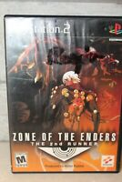 Playstation 2 Zone of the Enders The 2nd Runner Video Game Rated M
