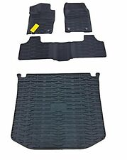 Jeep Grand Cherokee Rubber Slush Floor Mats & Cargo Tray Liner Set Mopar