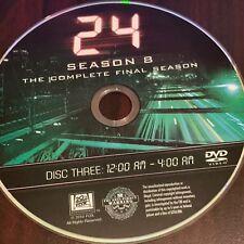 24 Finale Season 8 (DVD) REPLACEMENT DISC #3