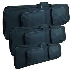 Airsoft Tactical Gun Bag 80cm / 100cm / 120cm Black Rifle Case Shooting Mat