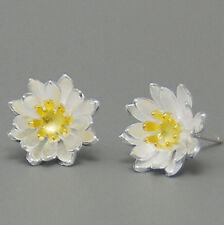 Ohrstecker Ohrring Blümchen Blüte Blume Sterling Silber 925