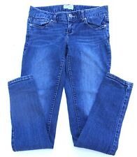 Women's AEROPOSTALE Jeans Size 1/2 Low Rise Straight Leg Slim Fit 29x28