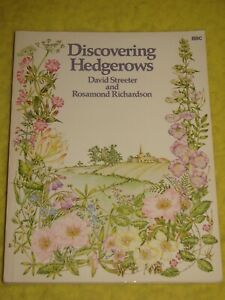 Discovering Hedgerows, 1983 p/b, Good, through the year, illustrated, BBC Books