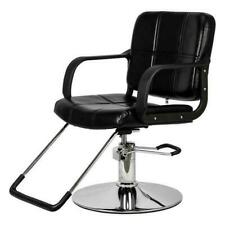 Woman Hairdressing Barber Chair Black Hydraulic Salon Styling Beauty Equipment