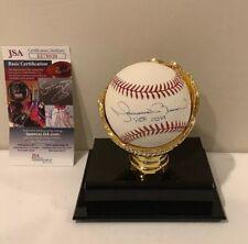 Mariano Rivera Yankees Signed Official MLB Baseball HOF 2019 JSA W/Holder