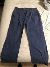 Men's Vintage DUCK HEAD Navy Pants 34x34